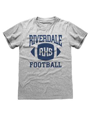Riverdale t-paita miehille harmaana