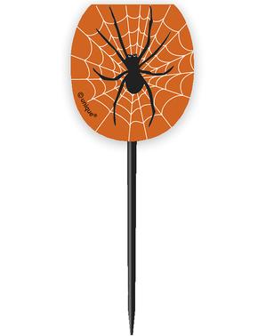 24 foremki do babeczek + 24 dekoracje babeczek pająki & pajęczyny - Basic Halloween