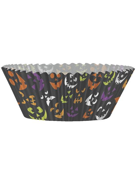 24 Cápsulas de cupcake + 24 toppers Halloween - Basic Halloween - comprar