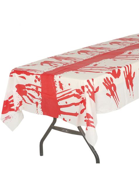Mantel con sangre para Halloween (135 x 270 cm)