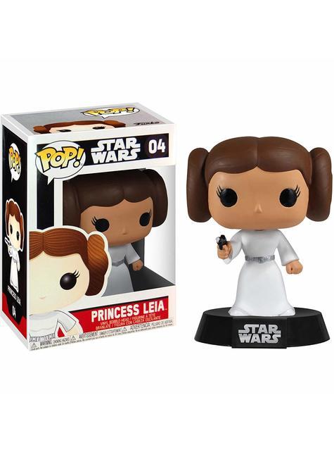 Funko POP! Bobble Princesa Leia - Star Wars - oficial