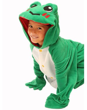 Childrens Pond Frog Bcozy Onesie