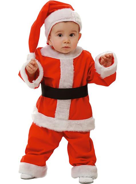 Disfraz de Papá Noel infantil y bebé