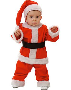 子供と赤ちゃんの父のクリスマスコスチューム