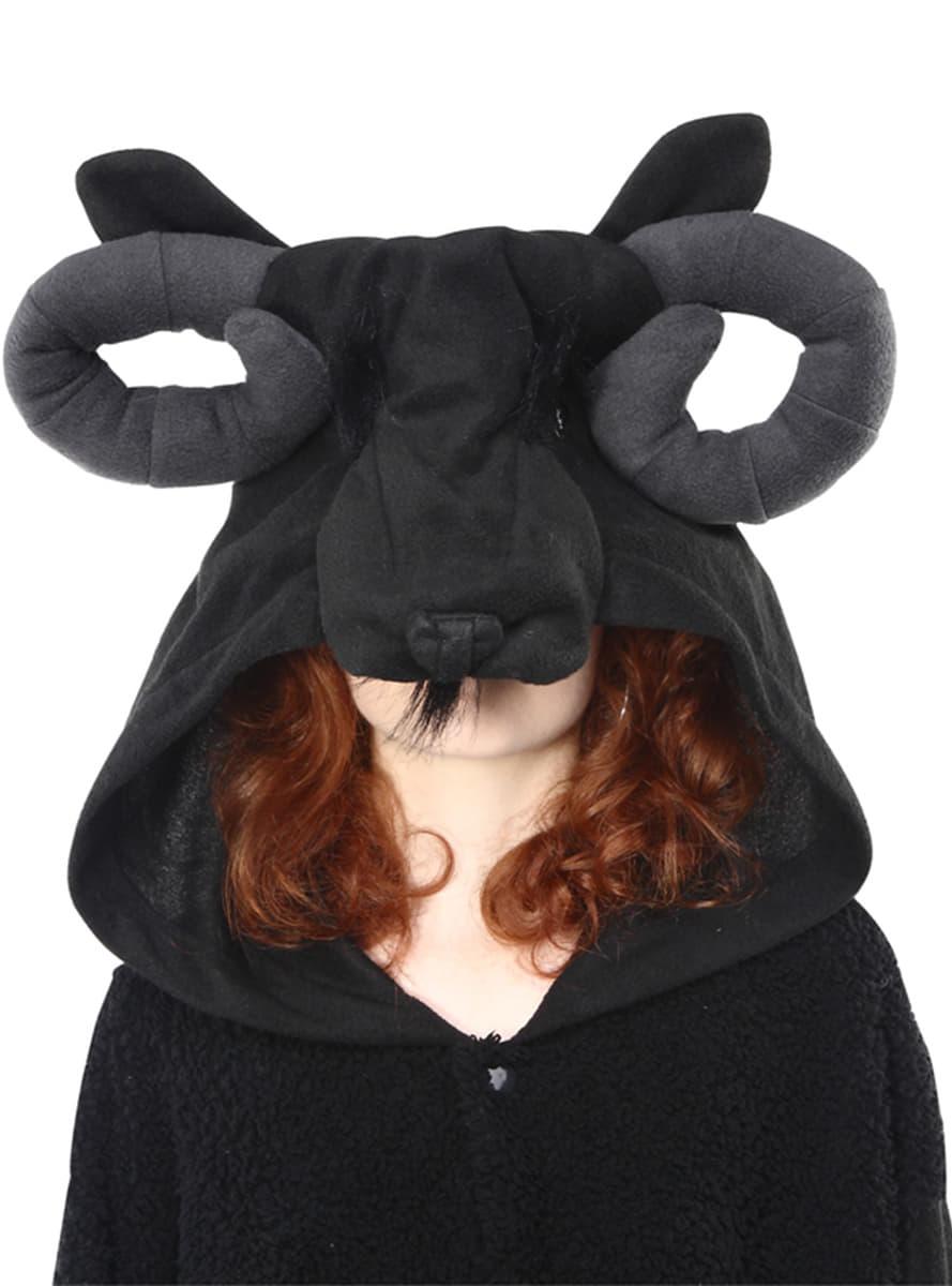 schwarzes schaf kost m bcozy onesie f r erwachsene. Black Bedroom Furniture Sets. Home Design Ideas