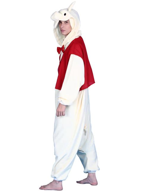 Disfraz de cerdito elegante Bcozy Onesie para adulto - adulto