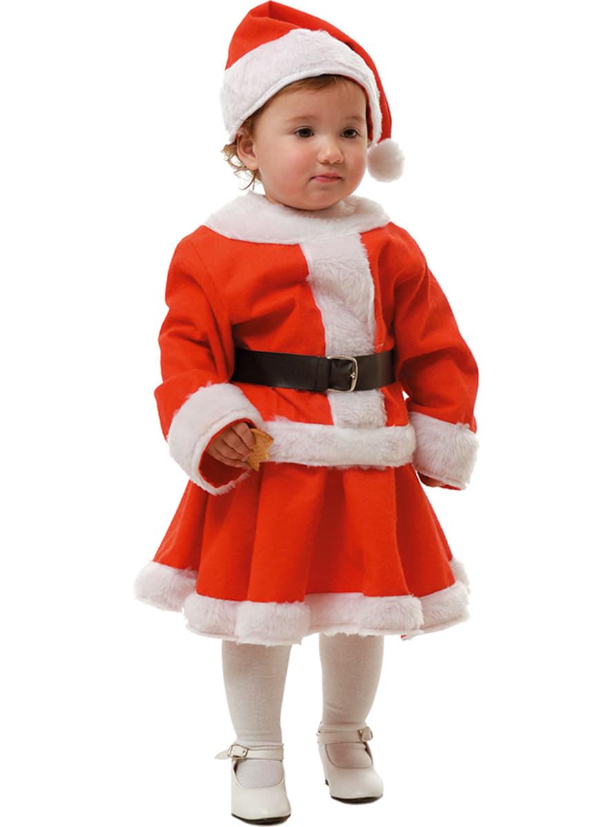 Disfraz de mam noel para ni a y beb comprar online - Disfraz de santa claus para nino ...