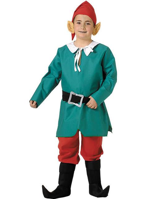 Fato de elfo para menino
