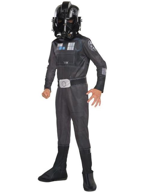 Disfraz de TIE fighter Star Wars Rebels Classic para niño