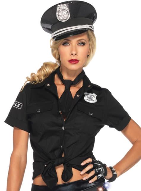 Chemise policière sexy femme