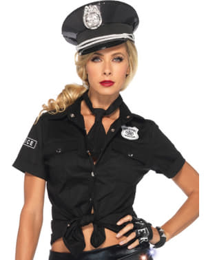 Polizistin Hemd sexy für Damen