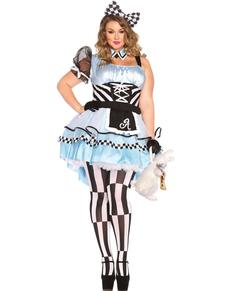 Costume da Alice nel paese delle meraviglie XXL da donna
