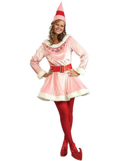 Womens Jovi Elf the Movie Deluxe Costume