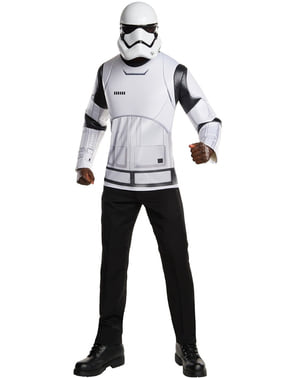 Kit disfraz Stormtrooper Star Wars Episodio 7 para hombre