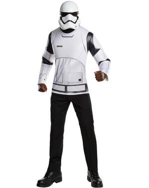 Kit fantasia Stormtrooper Guerra das Estrelas Episódio VII para homem