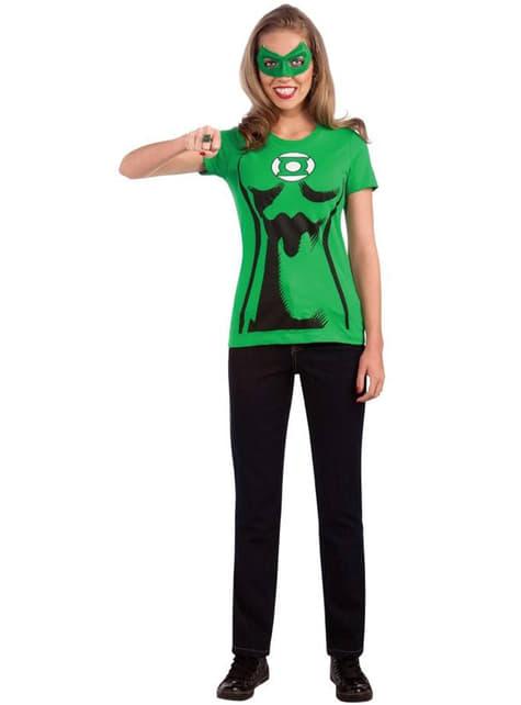 Green Lantern Sett Kostyme for Dame