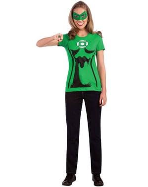 Zestaw kostium Zielona Latarnia damski