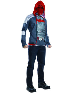 Mens Red Hood Batman Arkham Franchise Costume