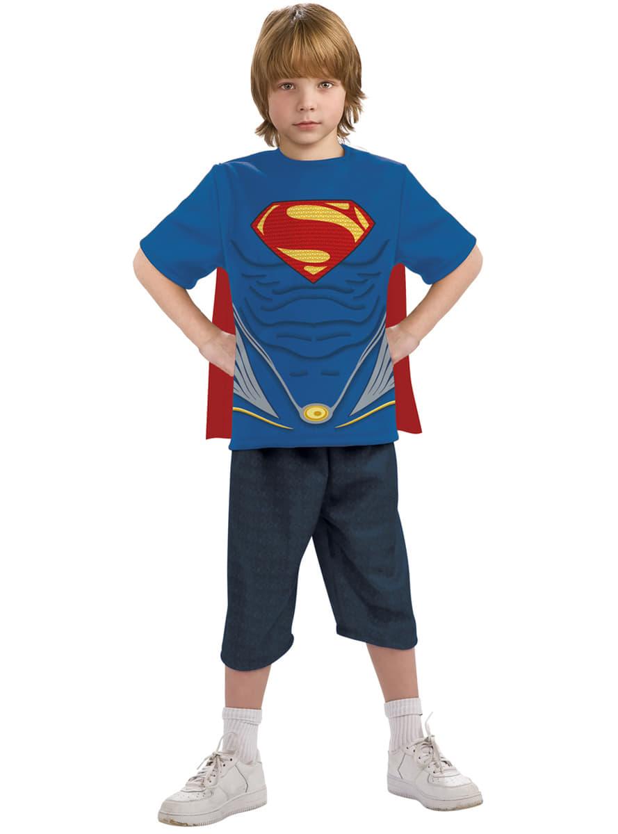 superman kost m set f r jungen aus iron man funidelia. Black Bedroom Furniture Sets. Home Design Ideas
