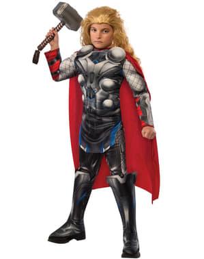 Costum Thor Avengers II: Age of Ultron deluxe pentru băiat