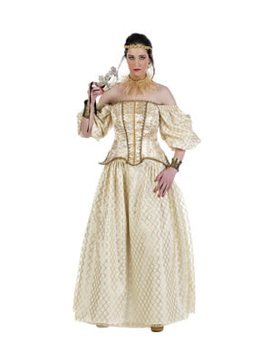 Womens Queen Elizabeth of England Costume