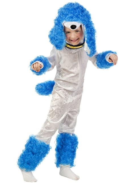Boys Little Blue Poodle Costume