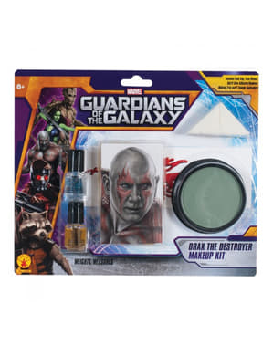 Set maquillaje Drax el Destructor Guardianes de la Galaxia para adulto