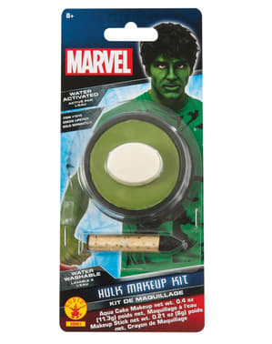 Aikuisten Hulk Marvel vartalomaali