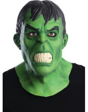 Máscara Hulk Marvel deluxe para adulto