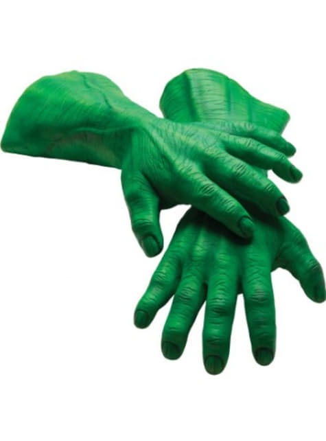Adults Hulk Marvel Gloves