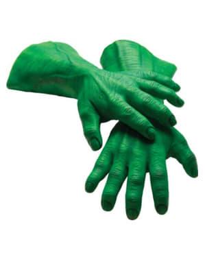 Luvas Hulk Marvel para adulto