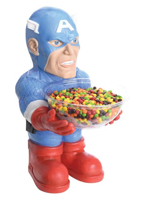Pot à bonbons Captain America Marvel