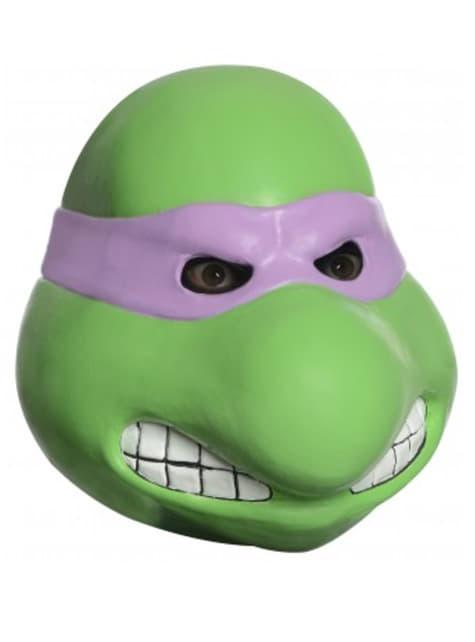 Maska lateksowa Donatello Wojownicze Żółwie Ninja dla dorosłego