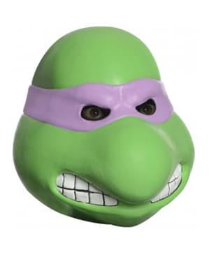 Máscara de látex de Donatello Tortugas Ninja para adulto