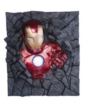 Figura decorativa per pareti Iron Man Marvel