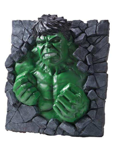 Pieza decorativa pared Hulk Marvel