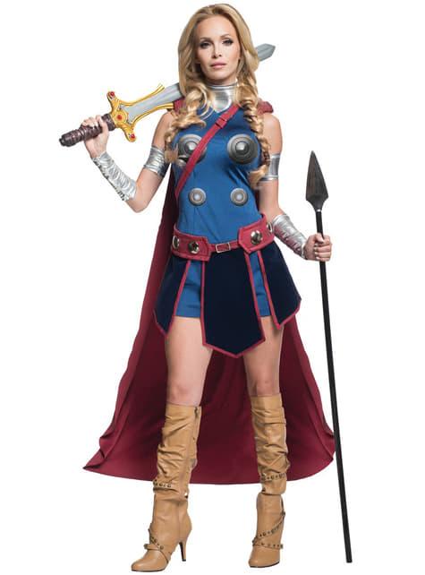 Fato de Valkyrie Marvel para mulher