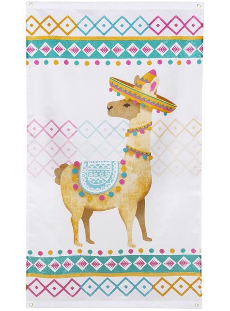 Bandera de llama - Lovely Llama