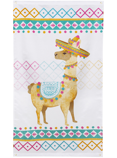 Banderole lama - Lovely lama