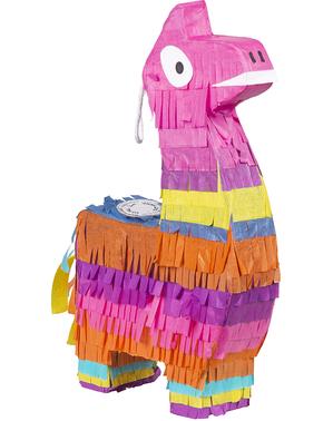 Monivärinen Laama minipinata - Lovely Llama