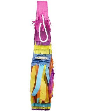Mini piñata de llama multicolor - Lovely Llama