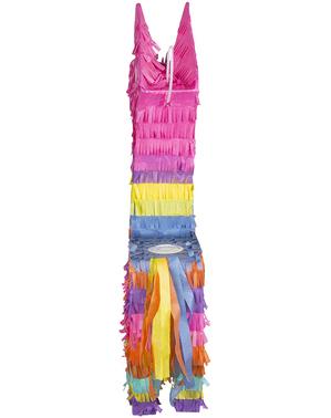 Llama multi-colored piñata - Lovely Llama