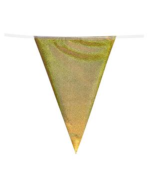 Grinalda de bandeirolas de sereias - Mermaid Collection