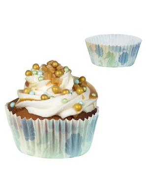 50 capsule di cupcake cavallucci marini - Mermaid Collection