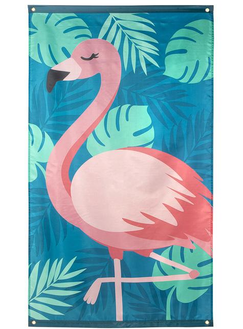 Banderole flamant rose - Flamingo Party