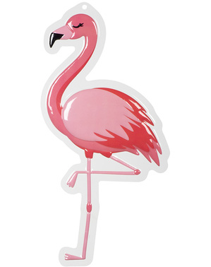 Flamingo hangende decoratie - Flamingo Party
