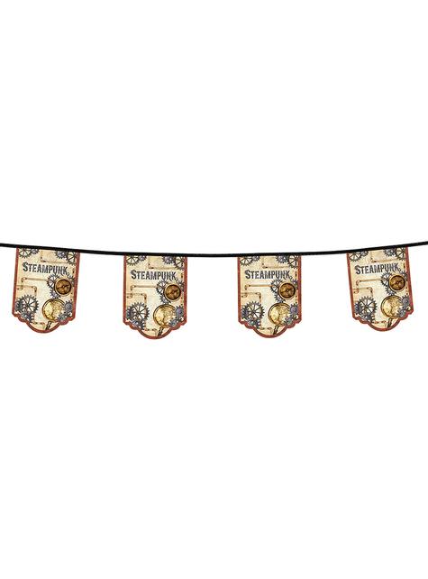 Guirnalda Steampunk marrón - Steampunk Collection