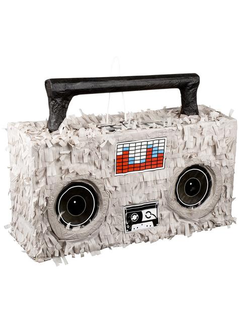 Piñata de radio cassette