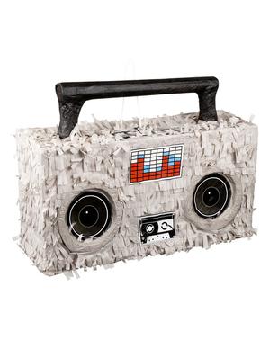 Pinata cu formă de radio casetofon