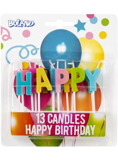 13 bougies